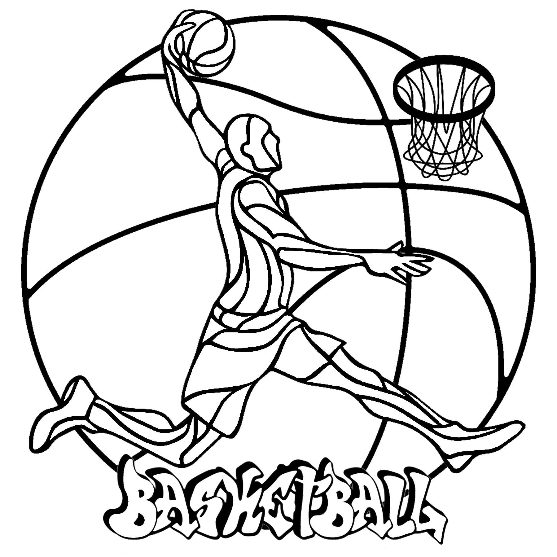 Mandala Basketball Coloriage Mandalas Coloriages Pour Enfants
