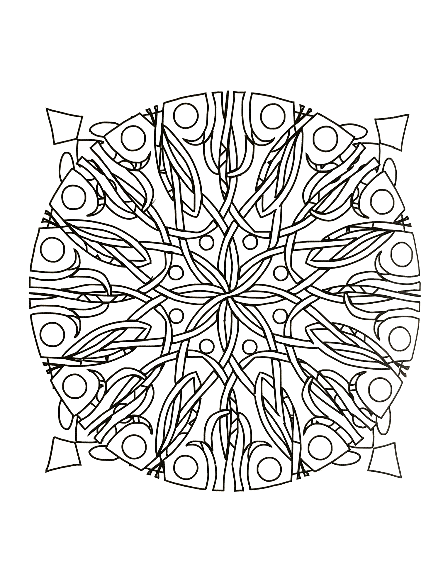 8 image=mandalas coloriage simple mandala a telecharger 5 3