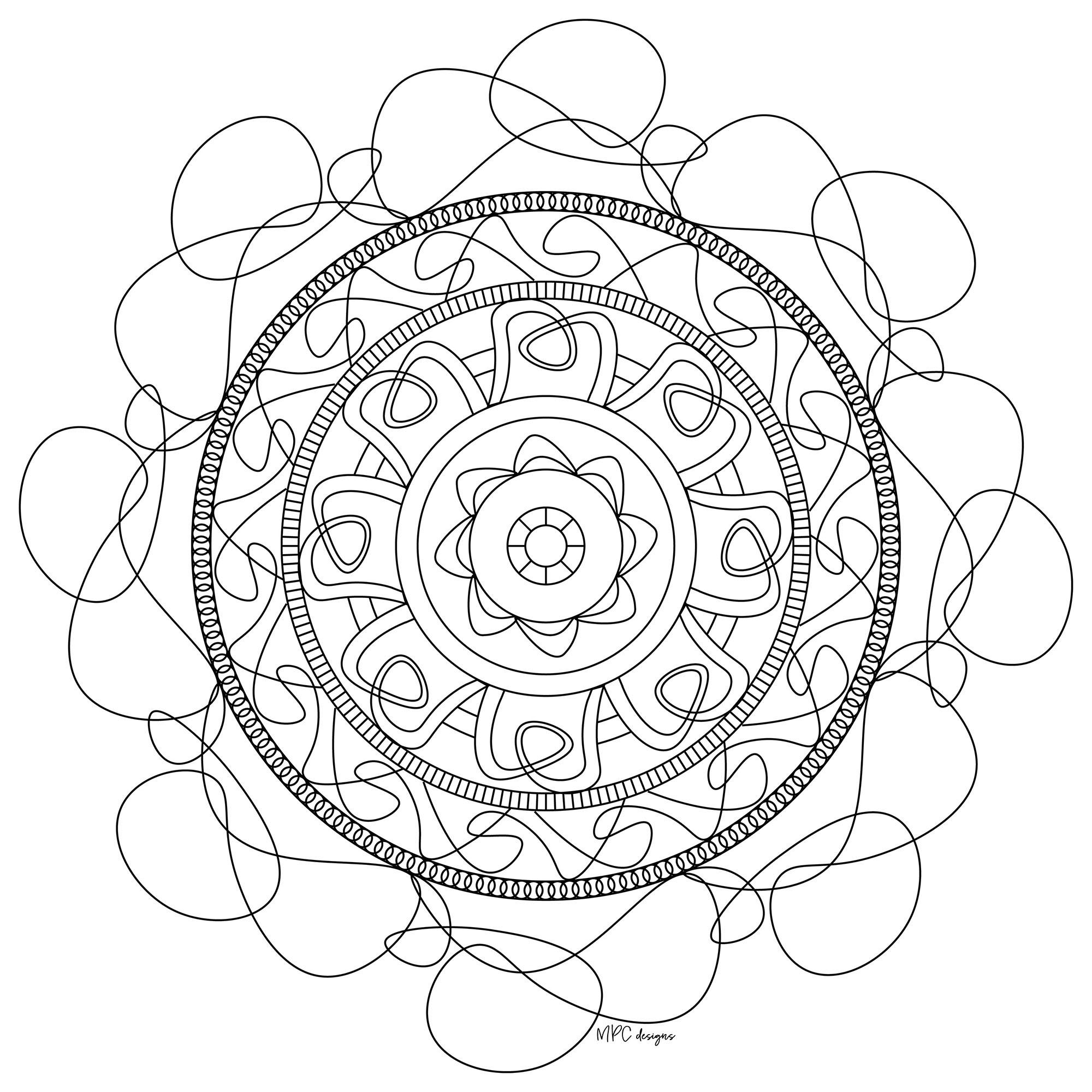 Mandala gratuit mpc design 5