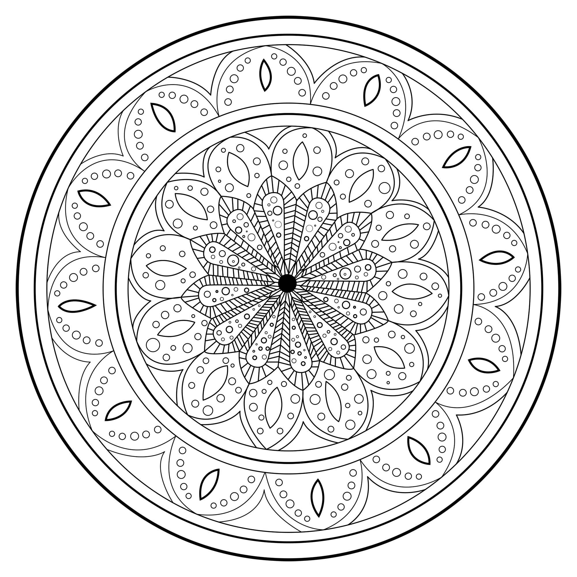 Mandala zen antistress 2