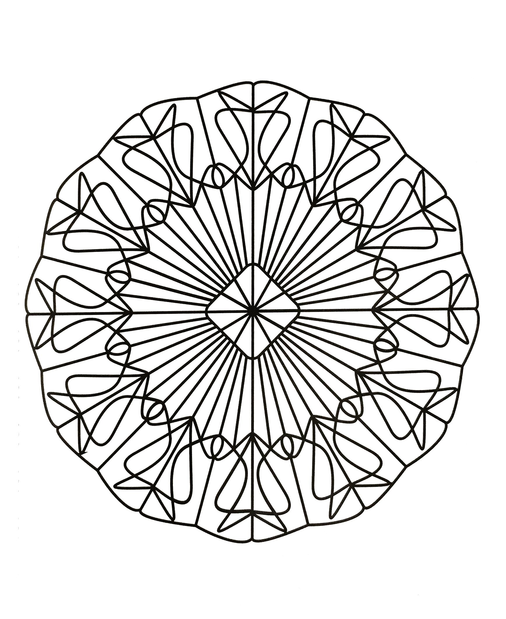 Mandalas a imprimer 15