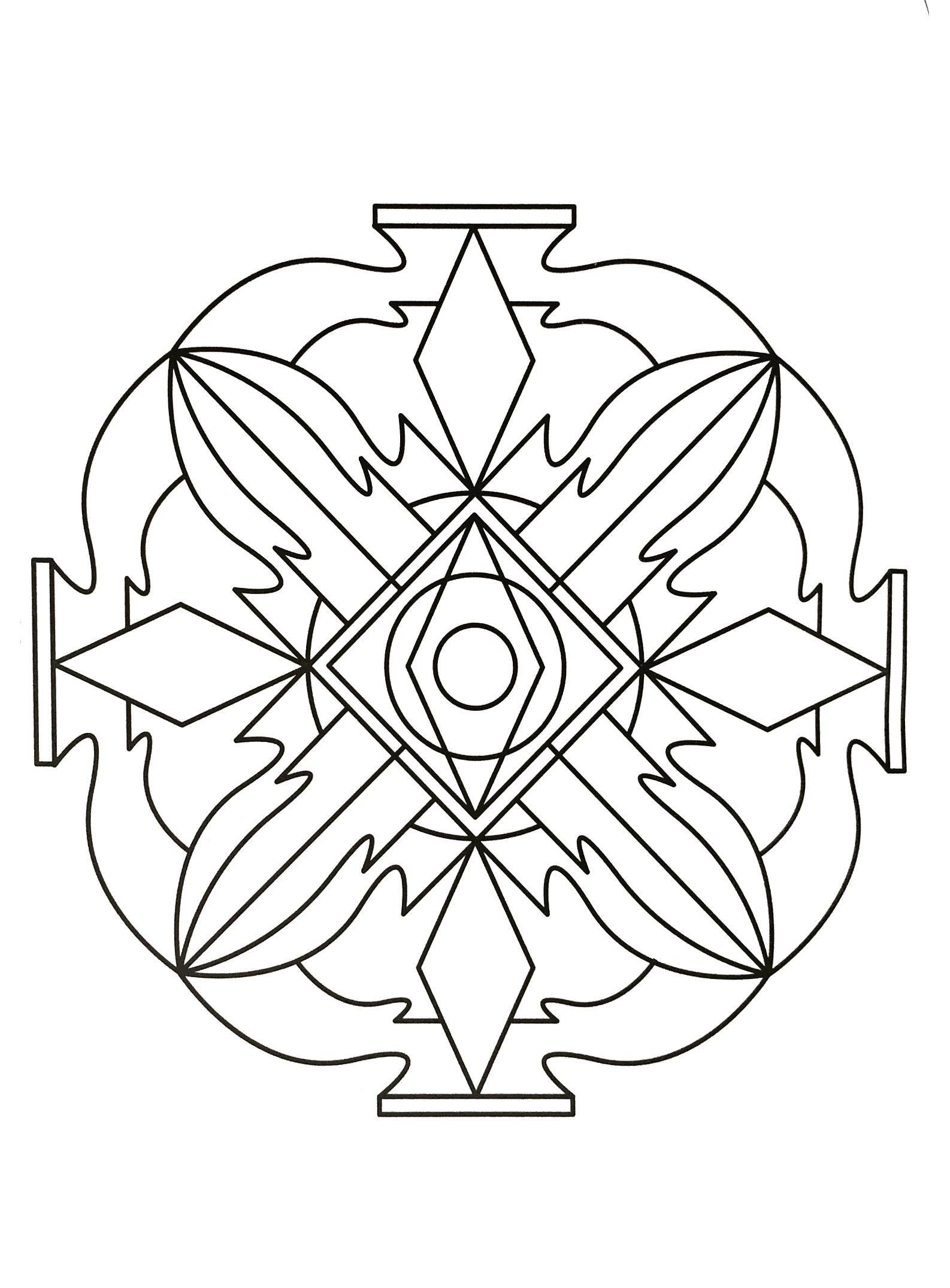 Mandalas a imprimer 17