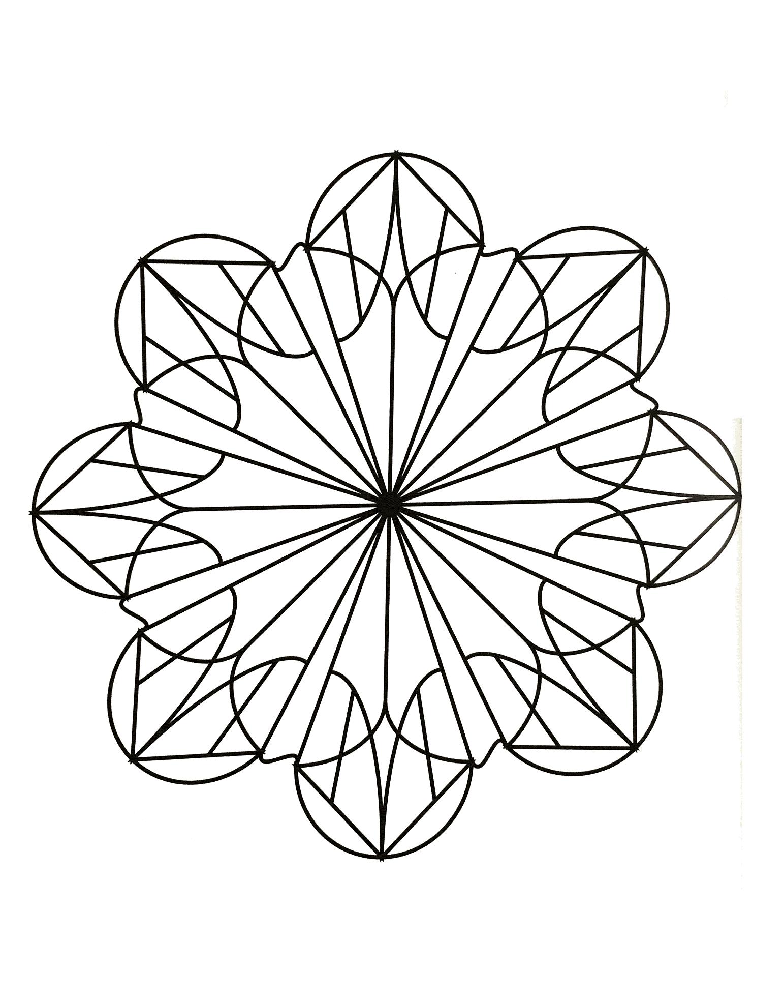 Mandalas a imprimer 27