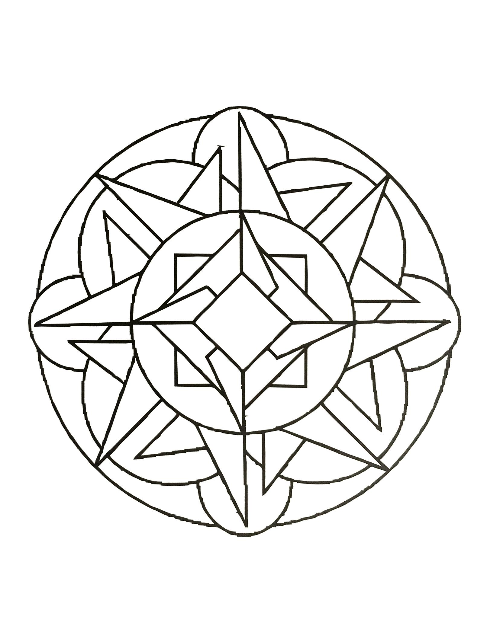 Mandalas a imprimer 28