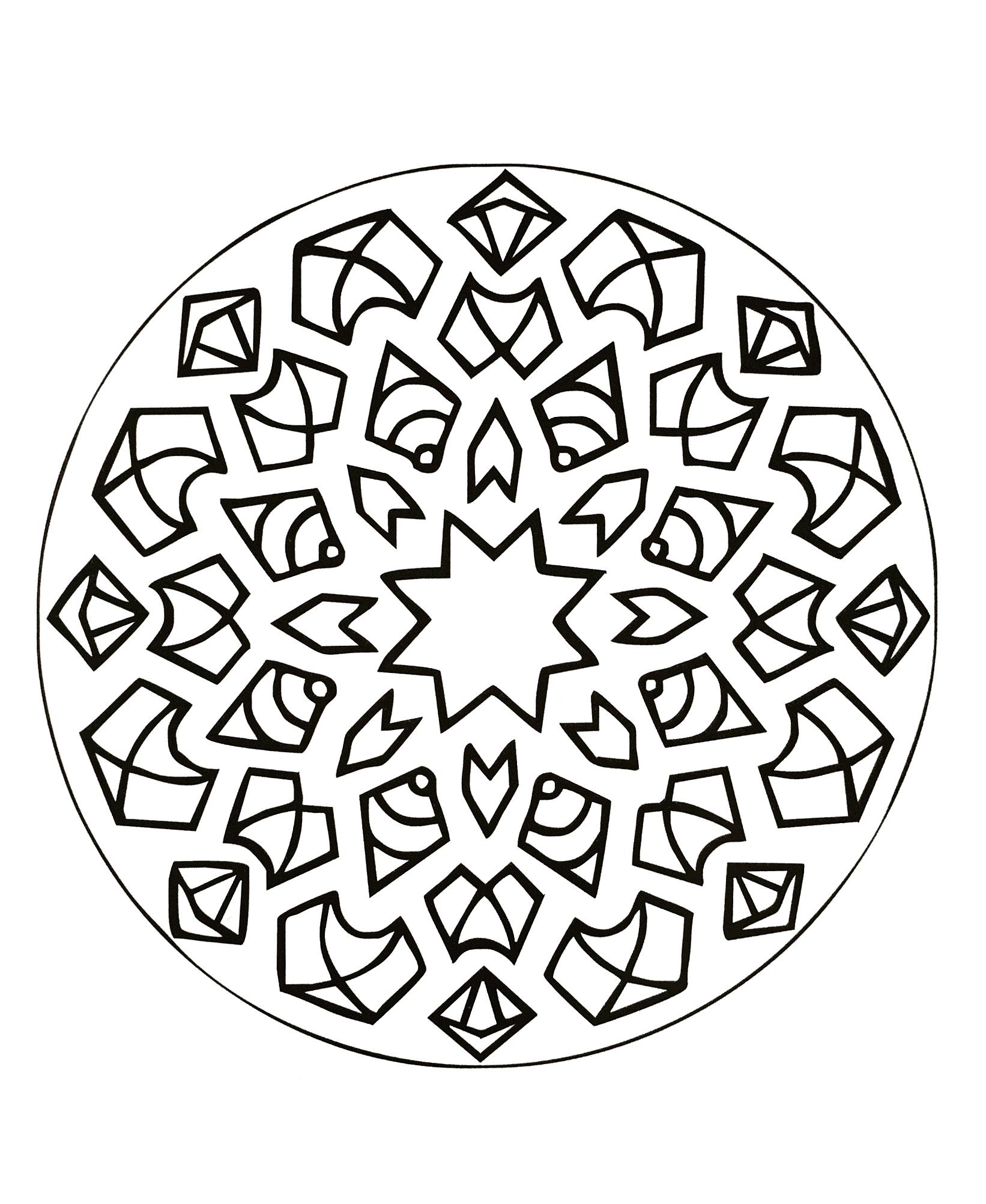 Mandalas a imprimer 29