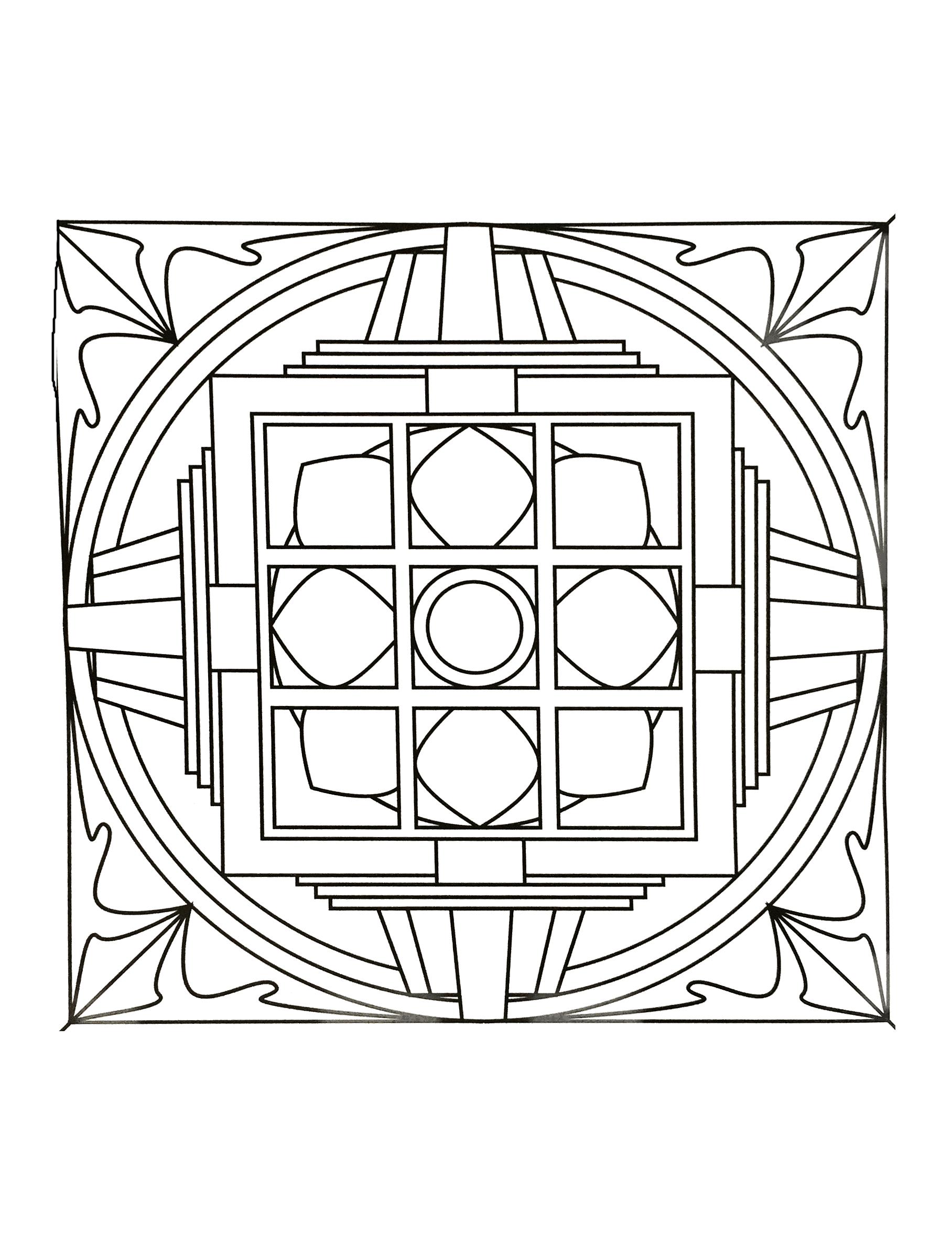 Mandalas a imprimer 31