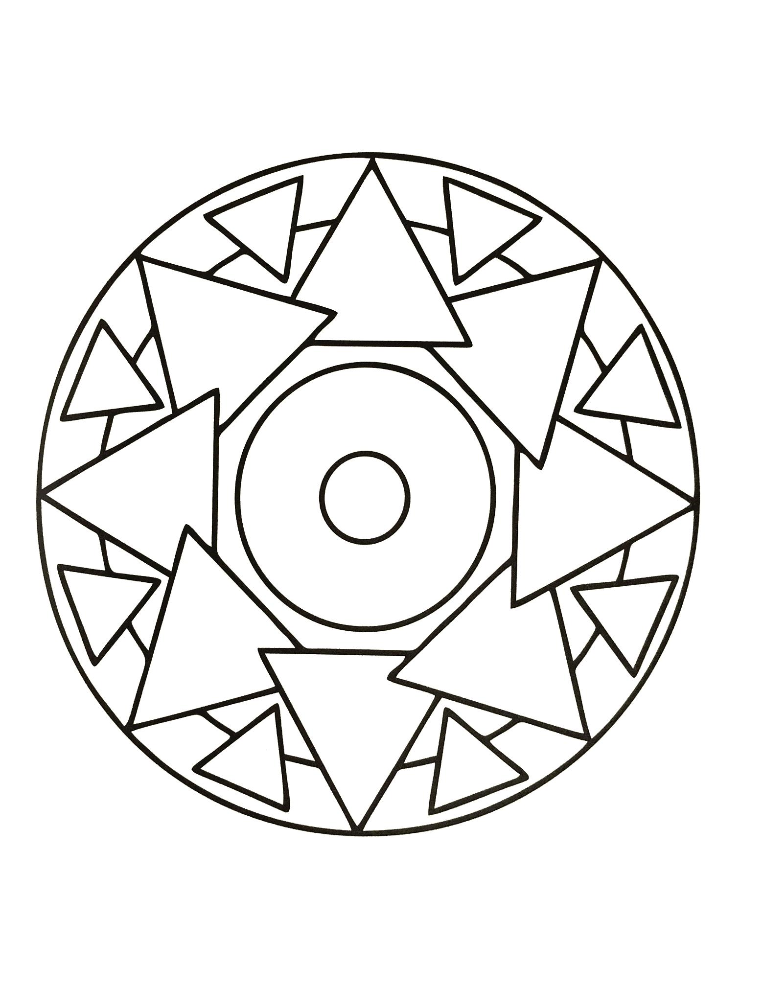 Mandalas a imprimer 38