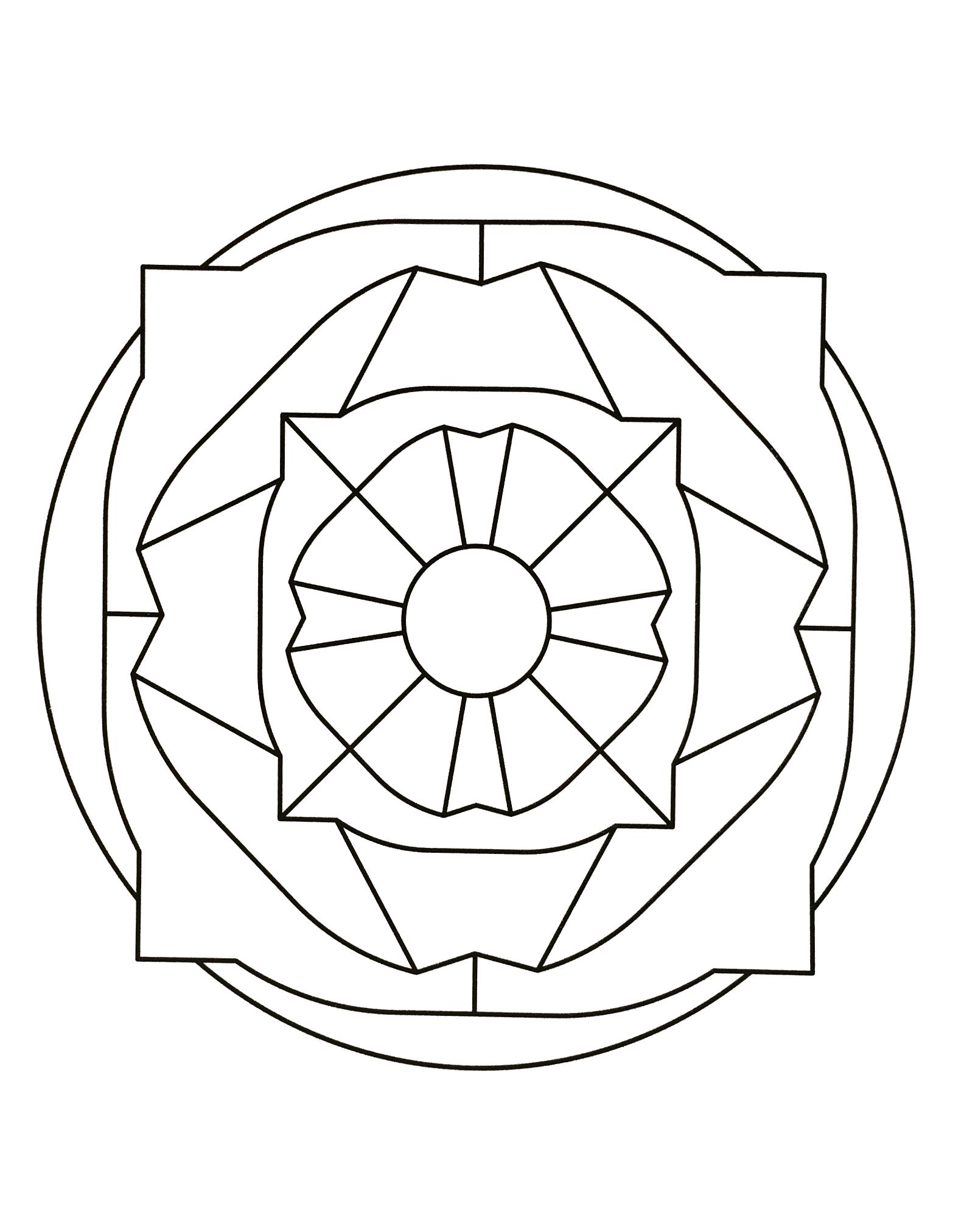 Mandalas a imprimer 43