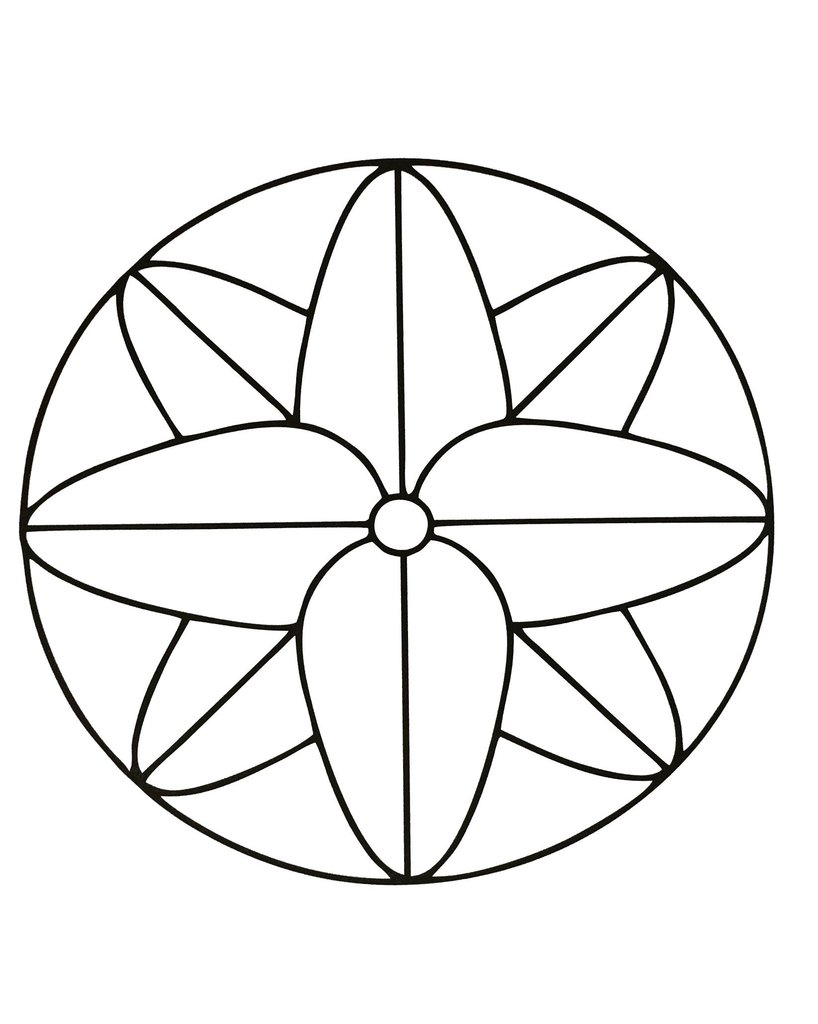 Mandalas a imprimer 5