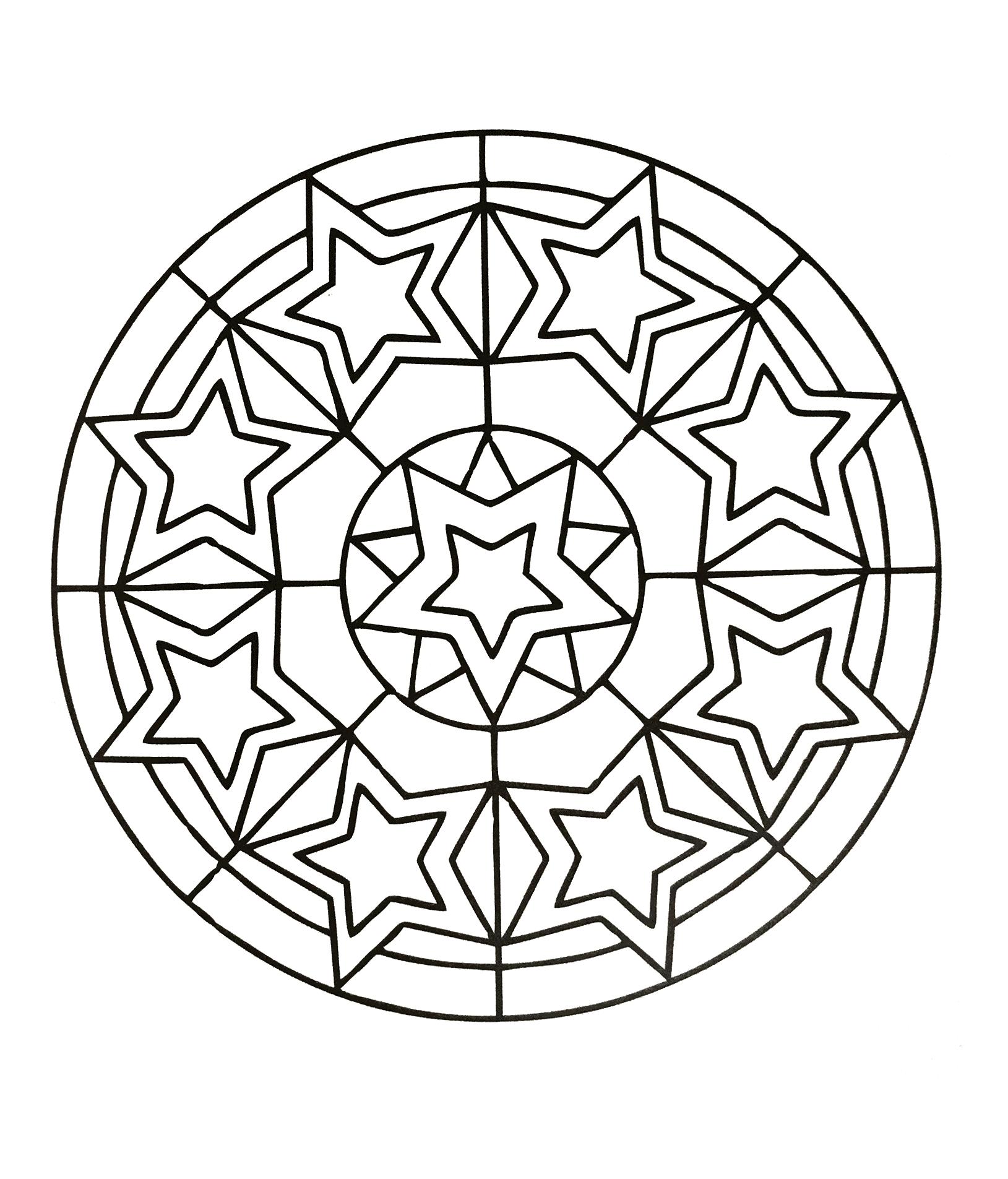 Mandalas a imprimer 52 coloriage mandalas coloriages - Coloriage a imprimer mandala gratuit ...