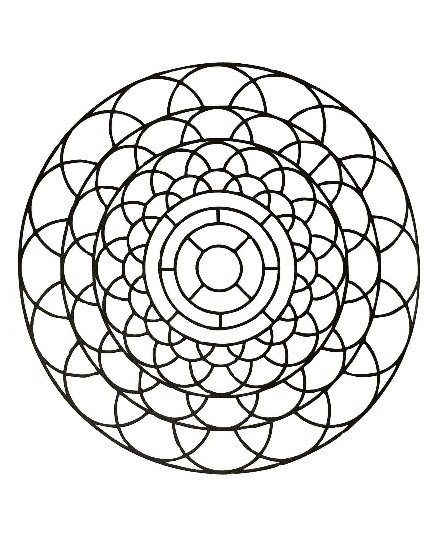 Mandalas a imprimer 58