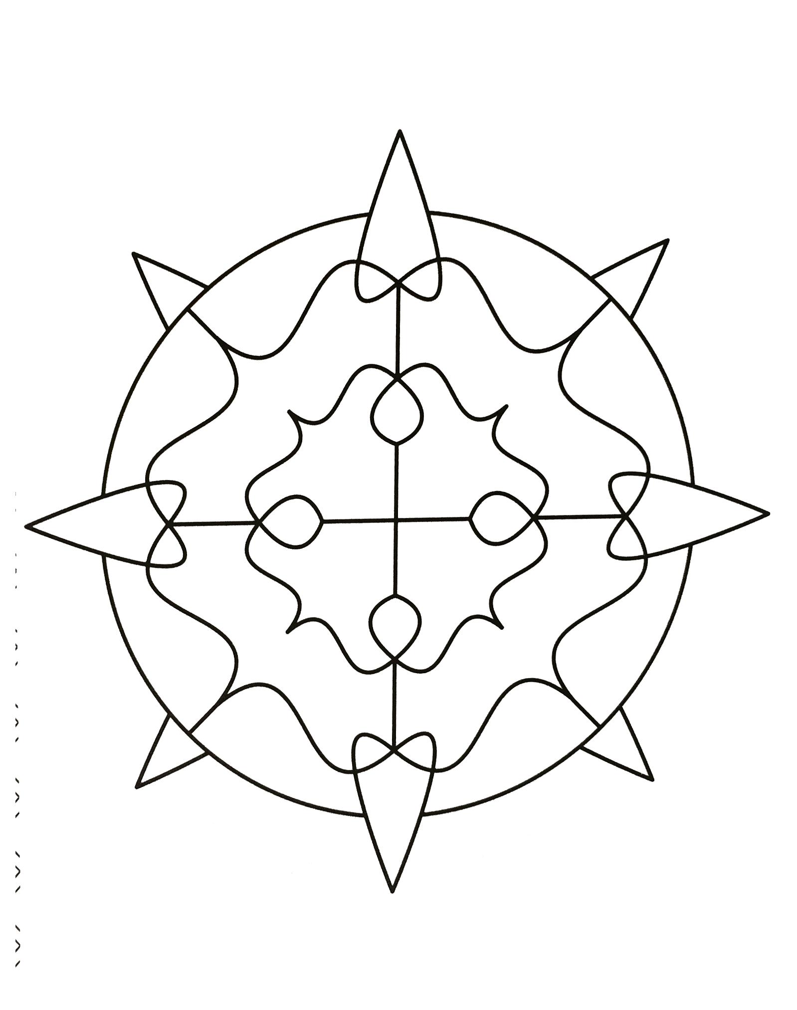 Mandalas a imprimer 6