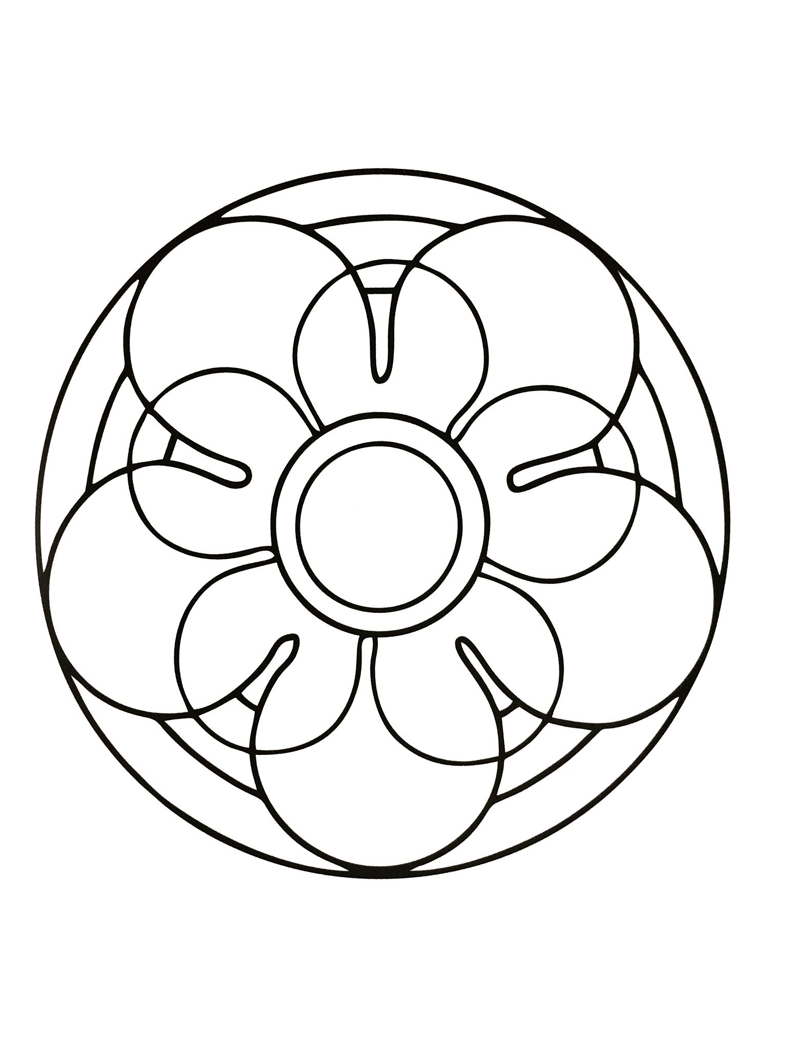 Mandalas a imprimer 7