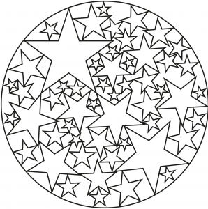 Coloriage licorne rigolote facile coloriages pour enfants - Coloriage mandala facile ...