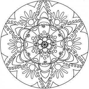 mandala-6 free to print