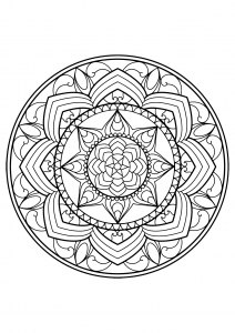 Mandala complexe livre gratuit 13