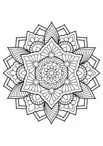 Mandala complexe livre gratuit 18