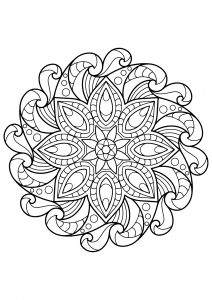 Mandala complexe livre gratuit 2