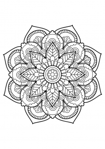 Mandala complexe livre gratuit 22