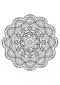 Mandala complexe livre gratuit 26