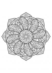Mandala complexe livre gratuit 27
