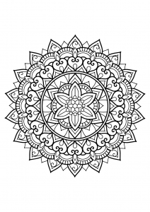 Mandala complexe livre gratuit 29