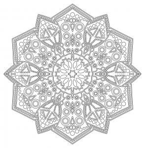 Mandala zen antistress 6