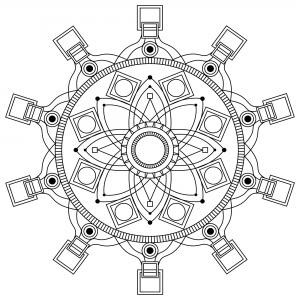 Mandala gratuit mpc design 3