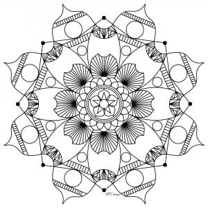 Mandala gratuit mpc design 6