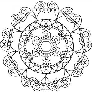 Mandala gratuit mpc design 7