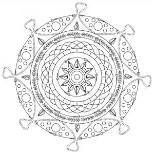 Mandala gratuit mpc design 8
