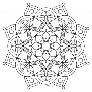 Mandala gratuit mpc design 9
