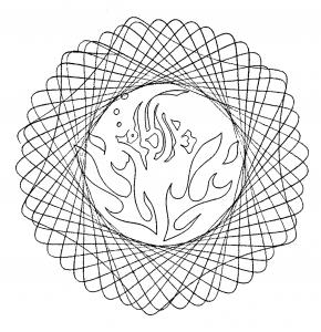 Mandala pour enfants par domandala 3