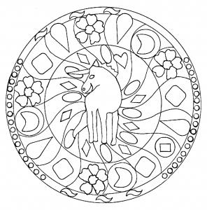 Mandala simple par domandala 1