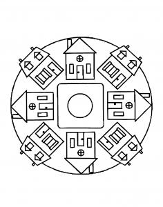 Mandalas a imprimer 2