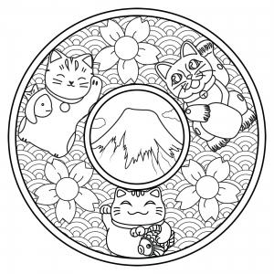 Mandala Japon