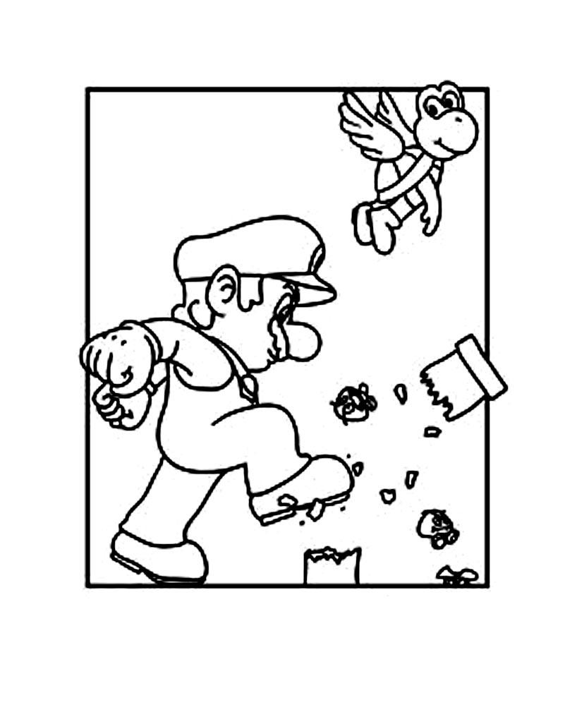 Mario Bros 2 Coloriage Super Mario Coloriages Pour Enfants