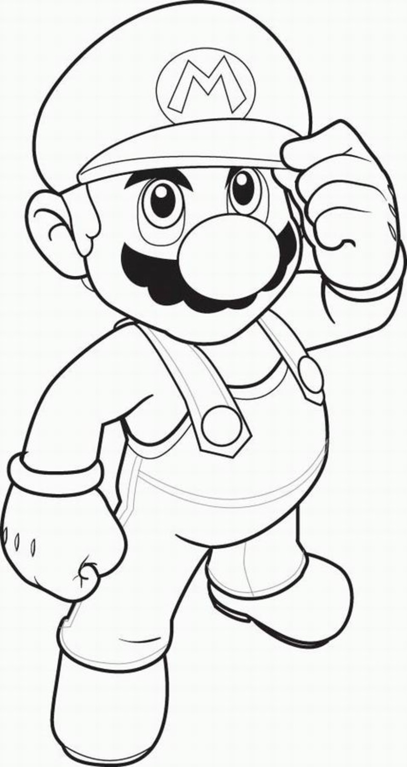 Coloriages mario bros 2 coloriage super mario - Mario bros dessin ...