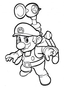 coloriage-mario-bros-9 free to print