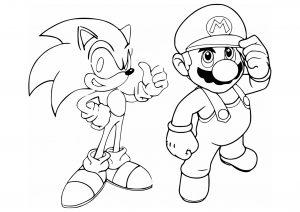 Coloriage Super Mario Coloriages