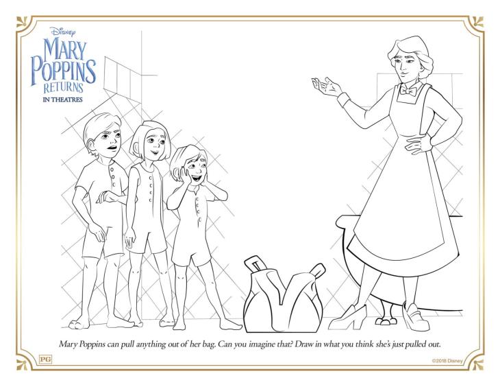 Les enfants toujours impressionnés par la Nounou magique