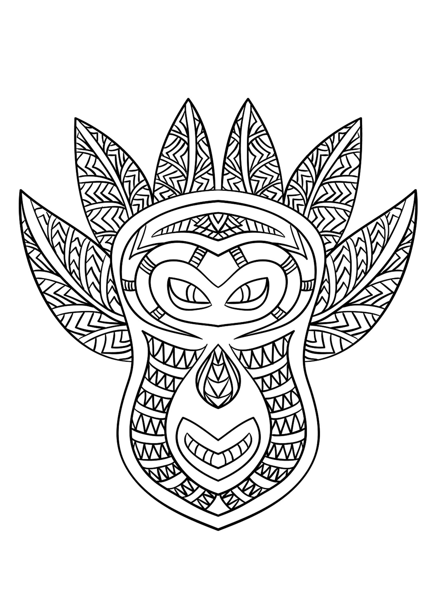 Masque africain 6