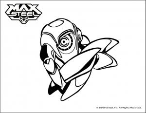 Coloriage de Max Steel gratuit à colorier