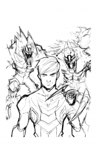 coloriage-max-steel-dessin-1 free to print