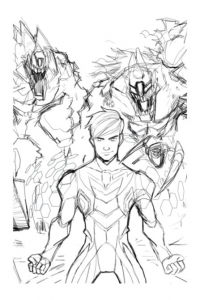 coloriage-max-steel-dessin-2 free to print