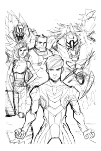 coloriage-max-steel-dessin-3 free to print