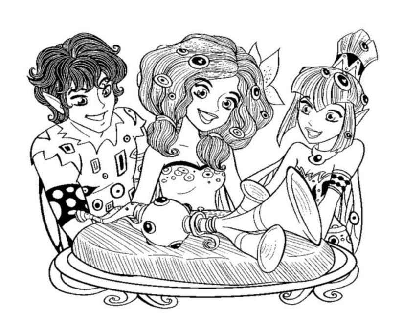 Mia avec Mo et Yuko