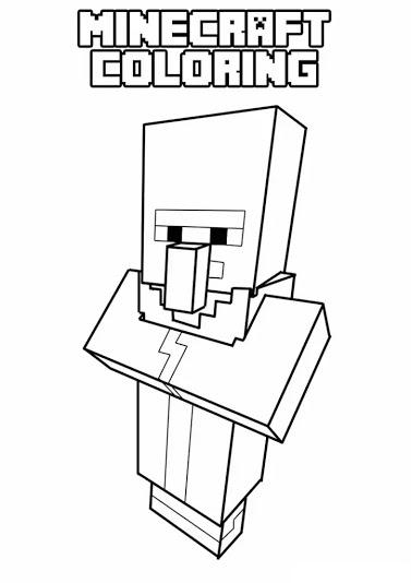 Coloriage Minecraft Coloriages Pour Enfants