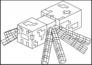 coloriage-enfant-minecraft-3 free to print