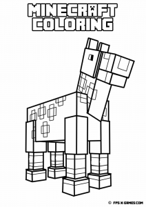 coloriage-enfant-minecraft-4 free to print